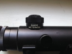 Early Armalite Scope Meters Inverted Post