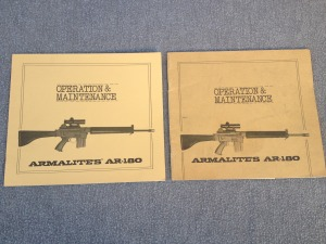AR-180 Front Cover