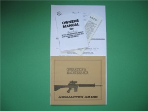 AR-180 Manual Package
