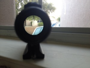 AR-180 Scope Inverted Post