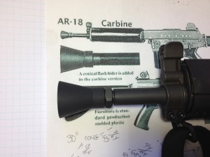AR180S Flash Hider 2