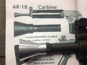 AR180S Flash Hider